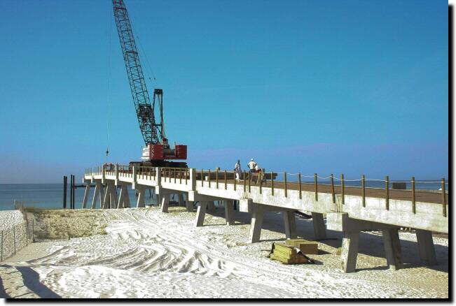 Navarre beach fishing pier for Navarre fishing pier